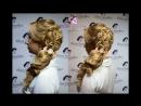 """Работы учениц Курс « Вечерние и свадебные причёски"""" в Авторской школе макияжа и прически, Елены Соседко"""