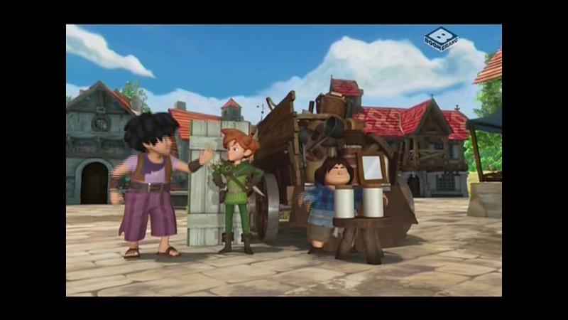 Робин Гуд: Проказник Из Шервуда! s1e12 - Пять Кукол/Зеркальная Марион!