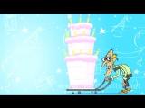 Дед танцует стриптиз в стрингах. Анимационная открытка с днем рождения