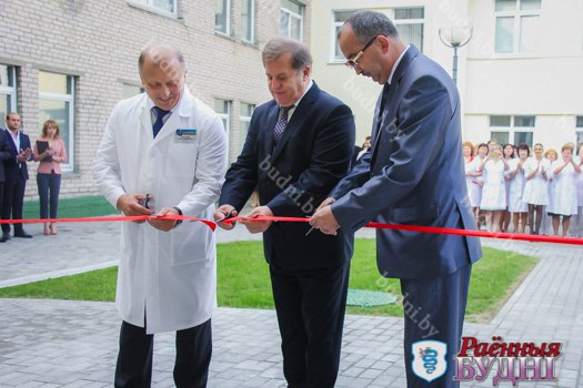 Новое неврологическое отделение открылось в Пружанской районной больнице