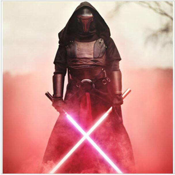 Комплект из 2-х световых мечей