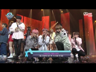 170223 BTS winning 1st place @ M!Countdown