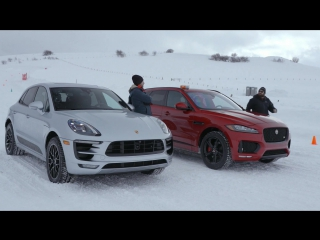 Лоб в Лоб 87: Jaguar F-Pace S vs Porsche Macan GTS