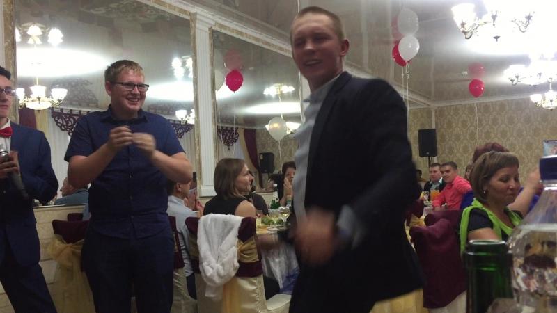 Танец(подарок) от друга семьи Саши