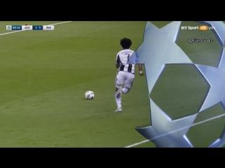 Удаление Куадрадо в финале Лиги чемпионов. Нет ли здесь симуляции?