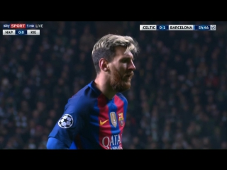 Селтик 0:2 Барселона. Дубль Месси