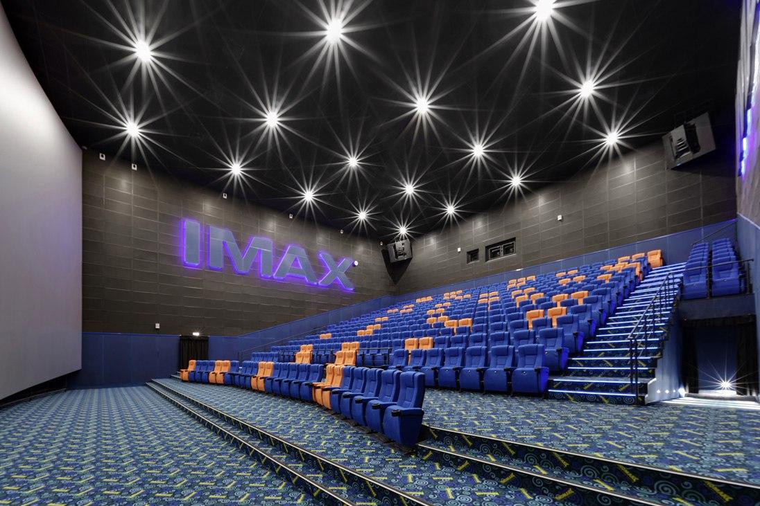 Формула кино Сити. Самые большие кинотеатры в России