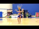 Виртуозное исполнение таитянского танца