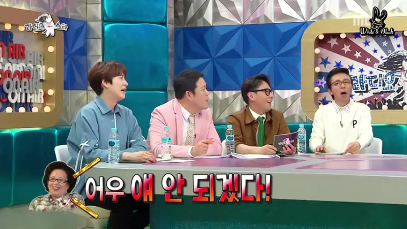 Radio Star 528 эпизод (гости Чхве Дэ Чхоль, Шин Дон Ук, Хо Гён Хван, Йе Сон)