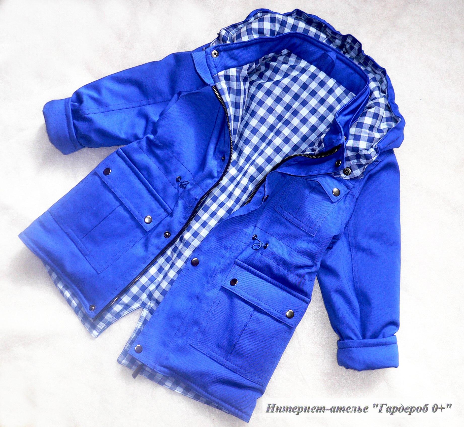 Шьем куртку для девочки своими руками