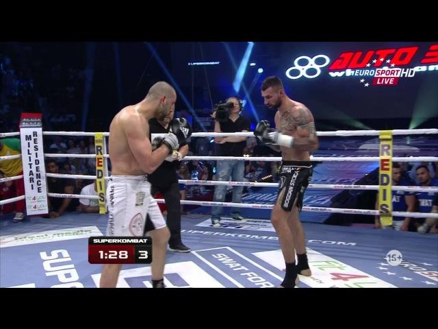 Bogdan Stoica vs Ibrahim Giydirir Superkombat 23 May 2015 Cruisewieght bout 92 kg
