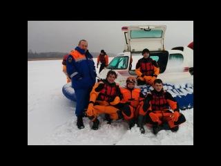 Тренировка перед учениями на Ладожском озере.