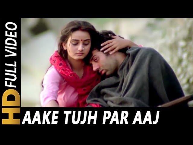 Aake Tujh Par Aaj Kar Doon Shabbir Kumar Kavita Krishnamurthy Yateem 1988 Songs Sunny Deol