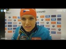 Periscope chat with Östersund Women Pursuit winner Koukalova