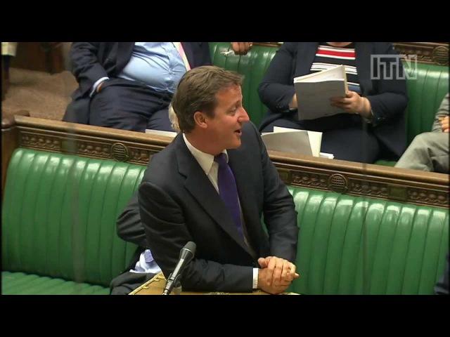 David Cameron joke gets Commons roaring with 'pleasure'