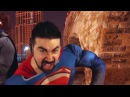 Ностальгирующий Критик Бэтмен против Супермена