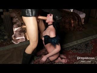 Yennefer blow job (The Witcher sex)
