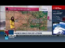 Weather Channels Jen Delgado Haiti deforested because kids eat the trees