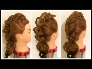 VALENTINES 3D LOVE HEART FAUX HAWK Hairstyle / Hair Tutorial / HairGlamour