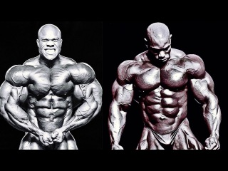 PHIL HEATH vs. FLEX WHEELER - SIZE AND SYMMETRY