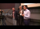 Serbia: Communist pies French philosopher Bernard-Henri Levy in the face