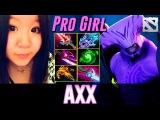 Axx Pro Girl Player Newbee Boss Dota 2