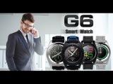 Обзор умных часов бренда No.1 G6 для смартфонов на Android и iOS