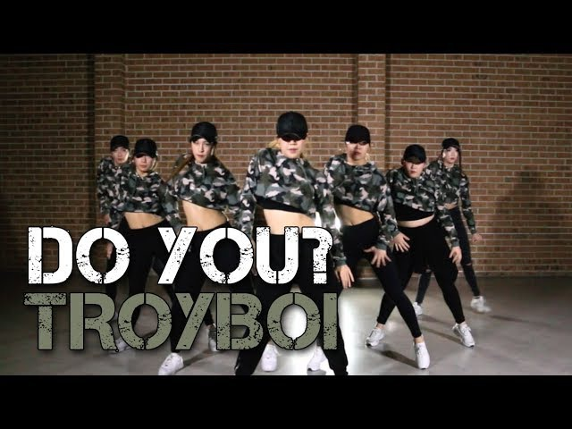 TroyBoi - Do You?   SKY J CHOREOGRAPHY @ IMI DANCE STUDIO