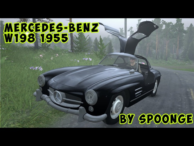 🚗Mercedes Benz W198 1955 l SPINTIRES l 🚗