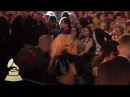 Lady Gaga Audience Cam 59th GRAMMYs