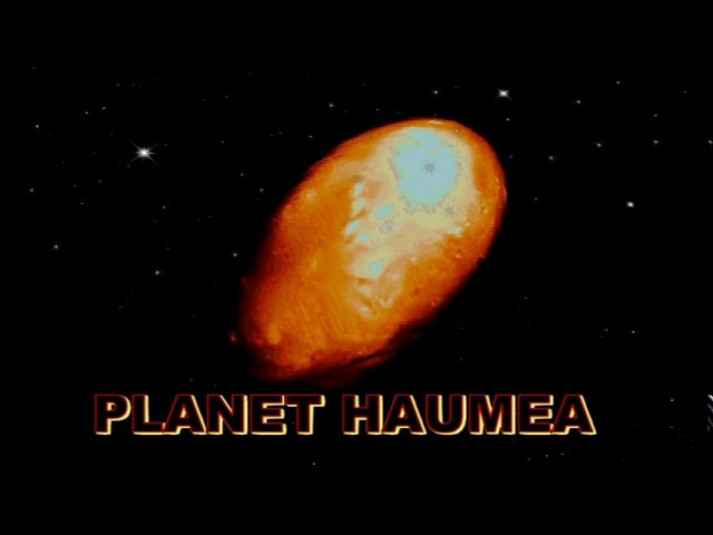 Egg Shaped Dwarf Planet Haumea Discovered Behind Pluto February 23, 2017