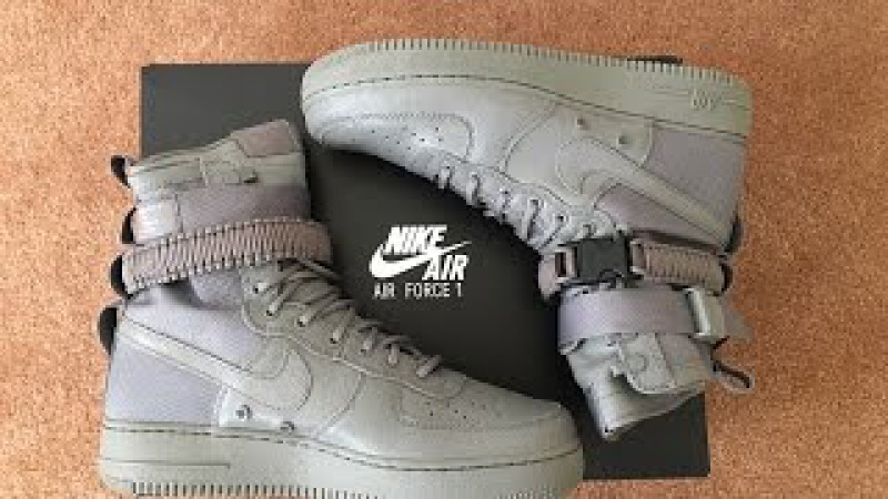 Quick Unboxing Nike Special Field Air Force 1 Dust SNKRS