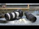 DRTV по русски Битва боке Canon 70 200mm f 2 8L IS II USM и Sigma 70 200mm OS HSM