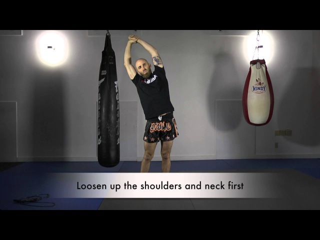 Dynamic Warmup For Muay Thai Training