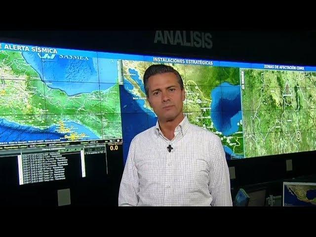 Mensaje a la Nación. 20 de septiembre de 2017 Peña Nieto