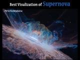 Best Supernova Visualization