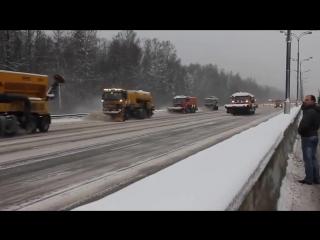 Как чистят дороги в России