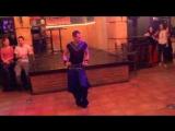 Shy bellydancer.Nancy Ajram-Mestaniyak,performance in Serbia 4535