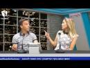Бывший полузащитник Маккаби Хайфа Густаво Бокколи и его жена Жослин в передаче Что такое любовь