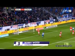 Чемпионат Германии 2016-17 / Лучшие голы 15-го тура / Топ-5 [HD 720p]