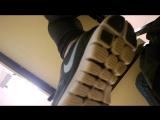 Nike Free Run Girl - Candid camera at school