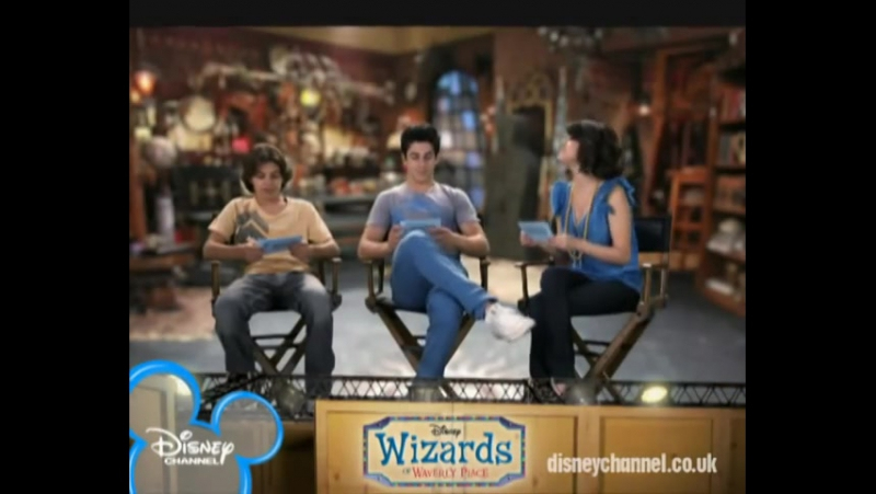 Wizards of Waverly Place On Set - Rapid fire questions