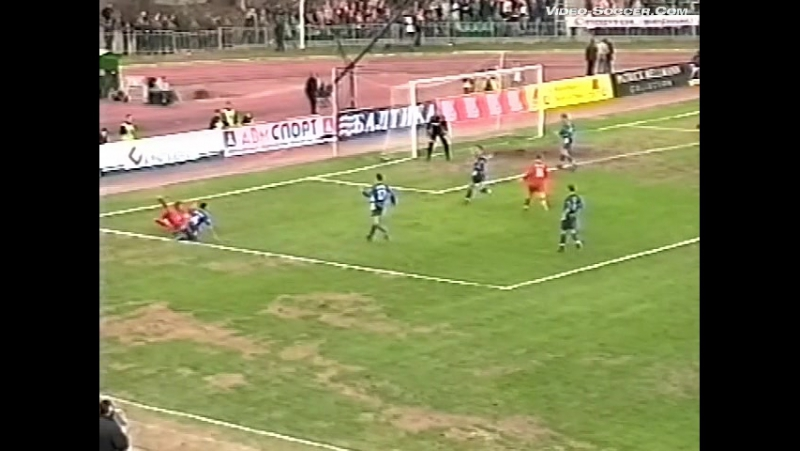 23/04/2003. ЧР 6 Тур. Спартак - Зенит 1:1