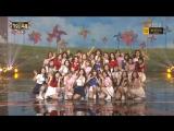 161229 Red Velvet &  Various Artists - Girls Present (Dumb Dumb + Into The New World (SNSD Cover)) @ KBS Gayo Daechukje