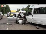 Авария с маршруткой в Иркутске — Прямая трансляция 18+