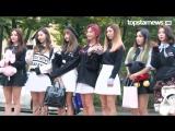 170825 Dreamcatcher по дороге на KBS Music Bank