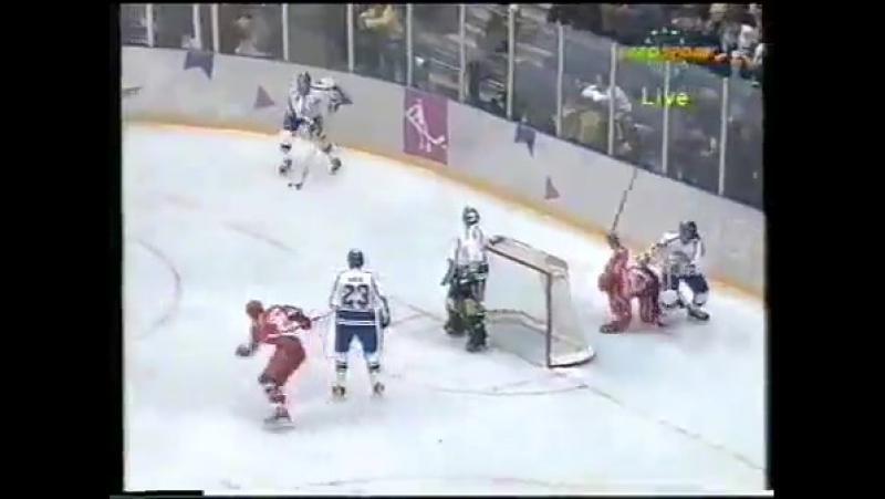 Олимпийские игры в Лиллехаммере 1994 Четвертьфинала Россия - Финляндия 0-5 (14.02.1994)