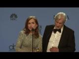 Isabelle Huppert - Golden Globes 2017 - Full Backstage Interview | Изабель Юппер
