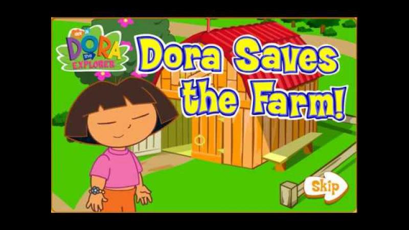 Игра Даша путешественница Спасает Ферму