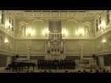 Два хора в исполнении хора мальчиков Хорового училища имени М.И.Глинки